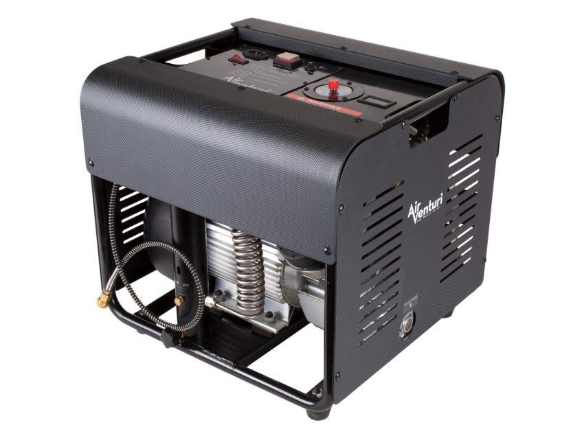 Air Venturi Air Compressor, Electric, 4500 PSI/310 Bar, 110V