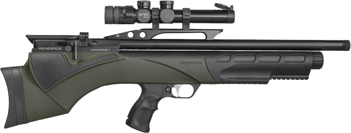 Daystate Renegade Green Synthetic Bullpup .177
