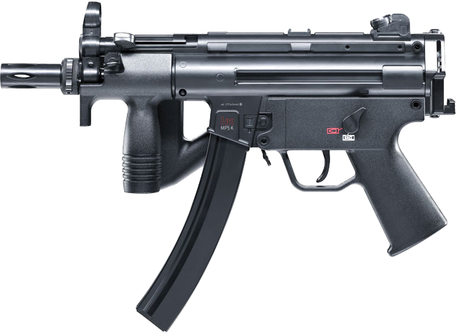 H&K MP5K-PDW CO2 BB Repeater