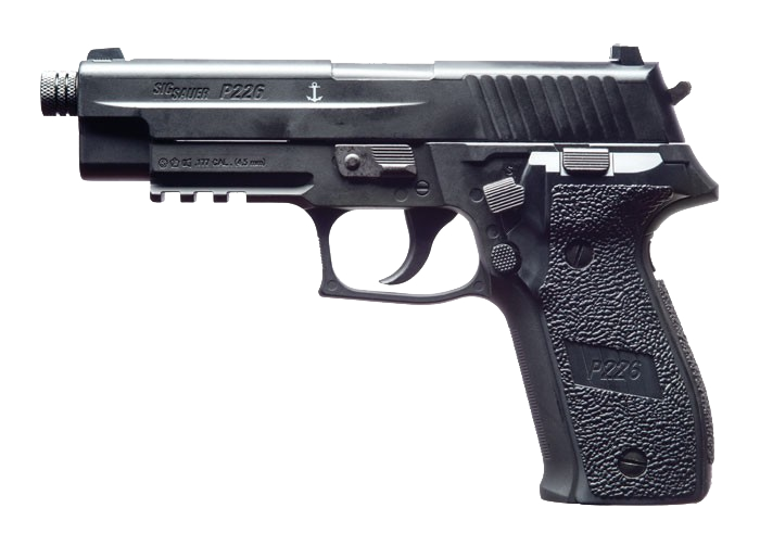 SIG Sauer P226 .177 Black CO2 Air Pistol