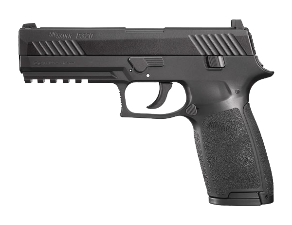 SIG Sauer P320 .177 Black CO2 Air Pistol