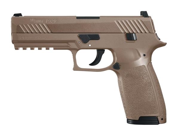 SIG Sauer P320 .177 Coyote Tan CO2 Air Pistol
