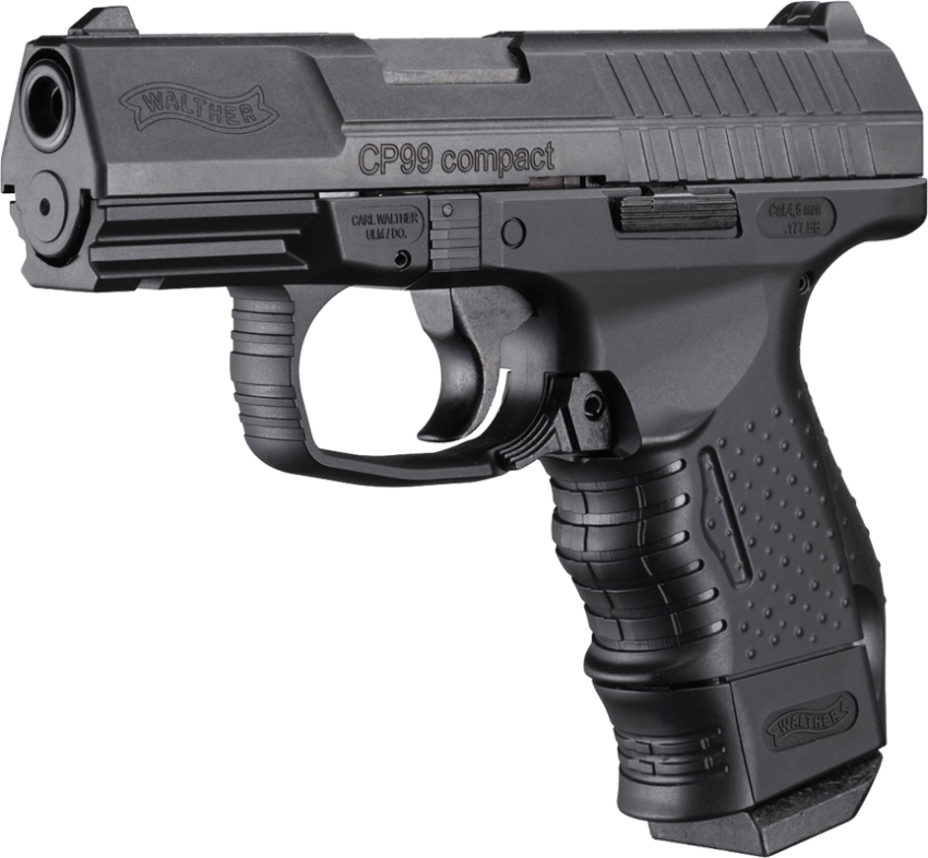 Walther CP99 Compact BB CO2 Pistol - Black