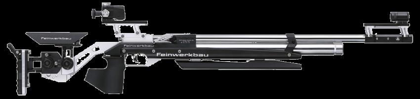 Feinwerkbau (FWB) 800 Aluminum Silver/Black Bench Rest