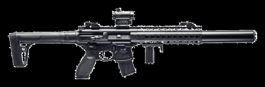 SIG Sauer MCX Red Dot .177 Black CO2 Air Rifle