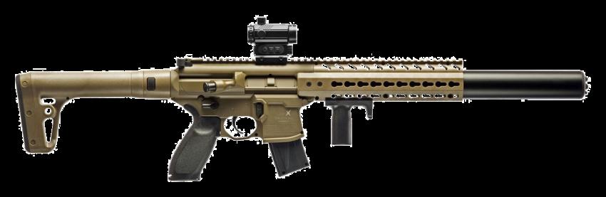 SIG Sauer MCX Red Dot .177 Flat Dark Earth CO2 Air Rifle