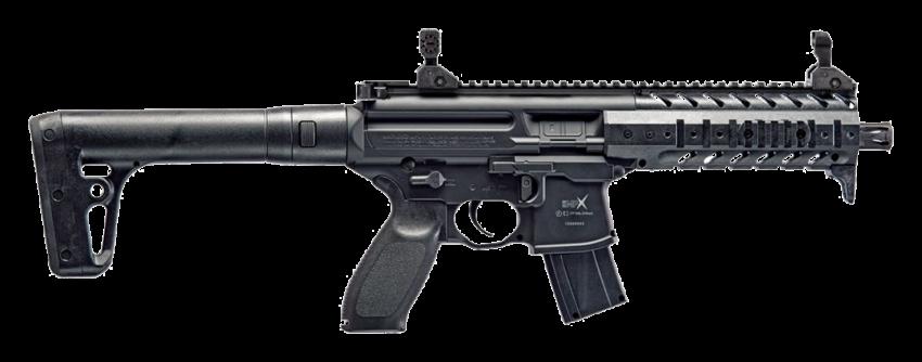 SIG Sauer MPX .177 Black CO2 Air Rifle