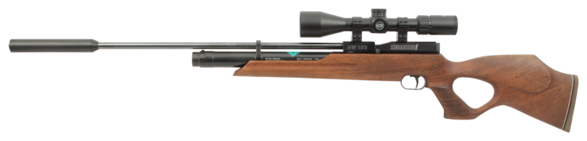 Weihrauch HW100 Thumbhole With Moderator