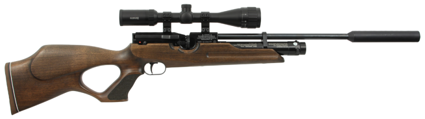 Weihrauch HW100 Thumbhole Carbine With Moderator