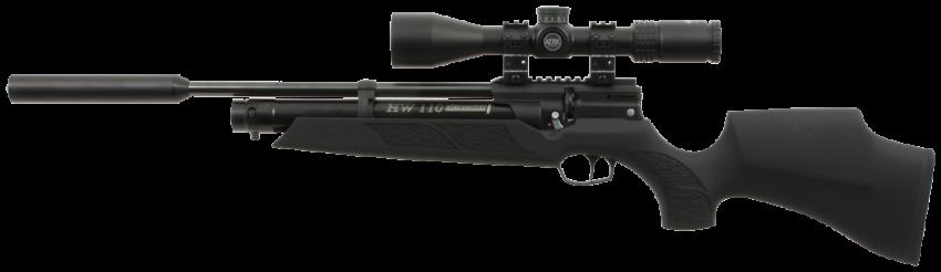 Weihrauch HW110 Carbine ST w/ Bonded Moderator